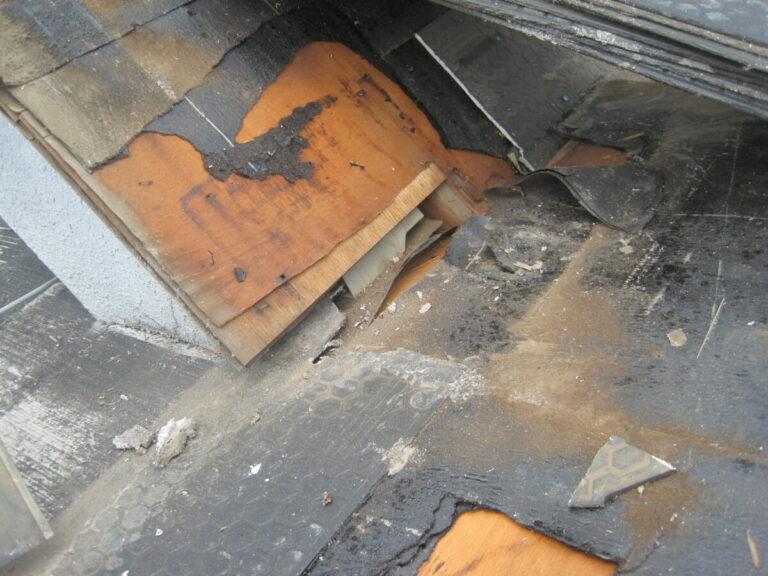 屋根 雨漏り