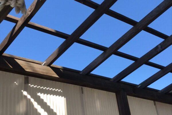 トタン屋根②