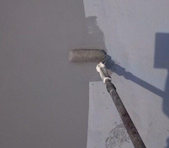 東京都葛飾区 I様邸 防水工事 外壁補修 屋上 ウレタン防水 (2)