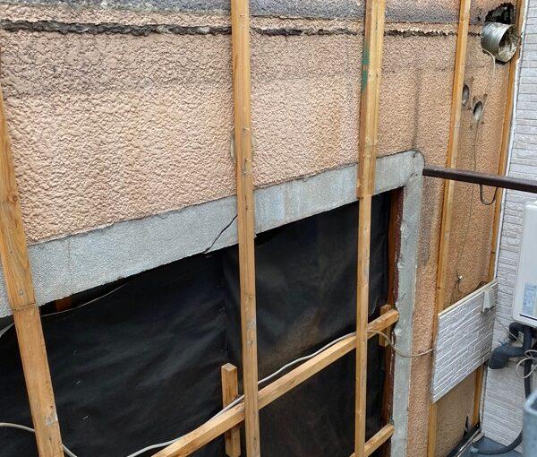東京都葛飾区 I様邸 防水工事 外壁補修 雨漏りの恐ろしさ サイディングボード (3)