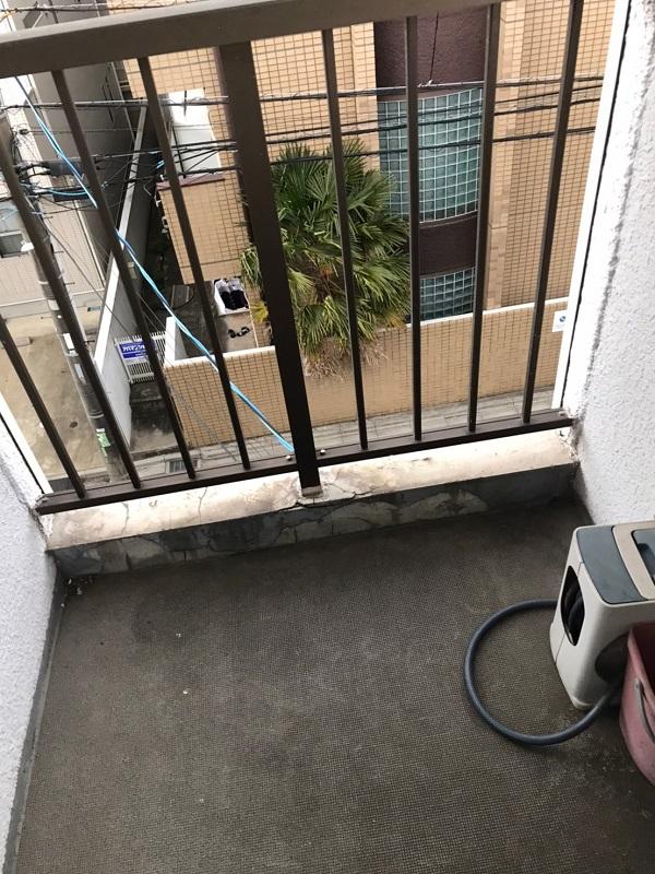 千葉県習志野市 シーリング工事 防水工事 アパート 施工前の状態 劣化症状 (6)