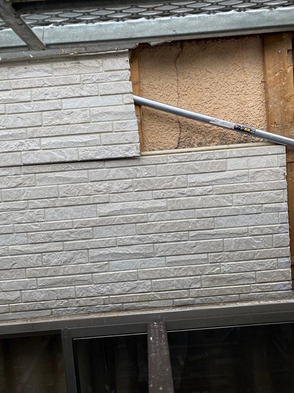 東京都葛飾区 I様邸 防水工事 外壁補修 雨漏りの恐ろしさ サイディングボード (5)