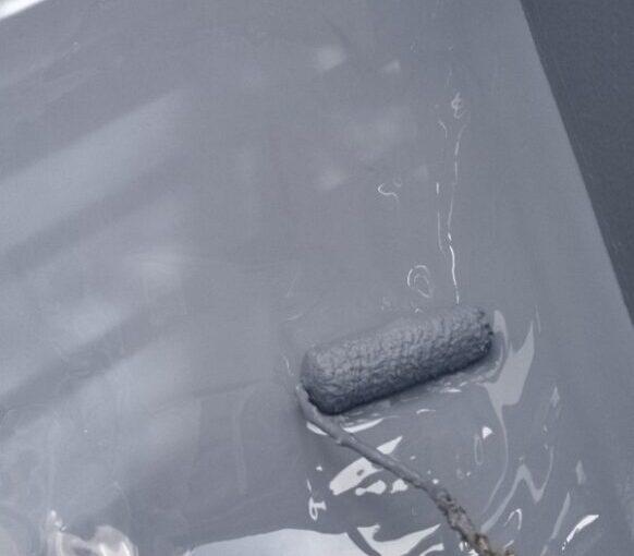 東京都葛飾区 I様邸 防水工事 外壁補修 屋上 ウレタン防水 (13)