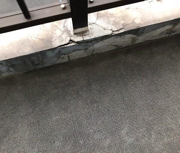 千葉県習志野市 シーリング工事 防水工事 アパート 施工前の状態 劣化症状 (7)