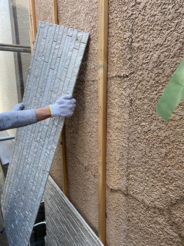 東京都葛飾区 I様邸 防水工事 外壁補修 雨漏りの恐ろしさ サイディングボード (6)