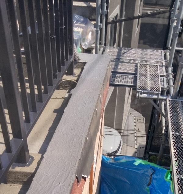 東京都葛飾区 I様邸 防水工事 外壁補修 屋上 ウレタン防水 (26)