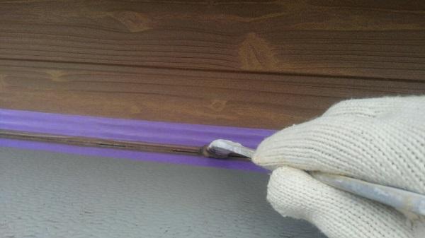 埼玉県八潮市 A様邸 屋根塗装・外壁塗装 下地処理 シーリング(コーキング)工事 (9)
