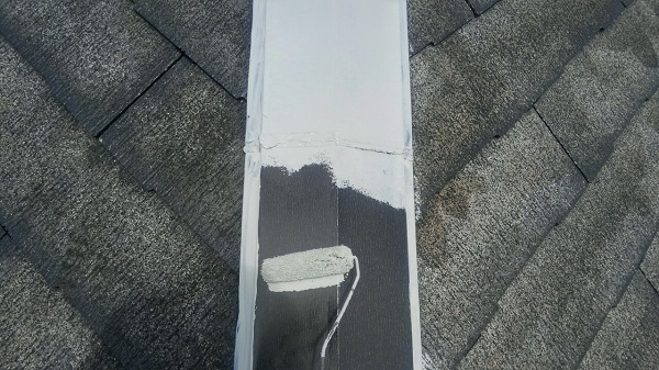 埼玉県八潮市 A様邸 屋根塗装・外壁塗装 メンテナンス時期の目安 屋根塗装の工程 (11)