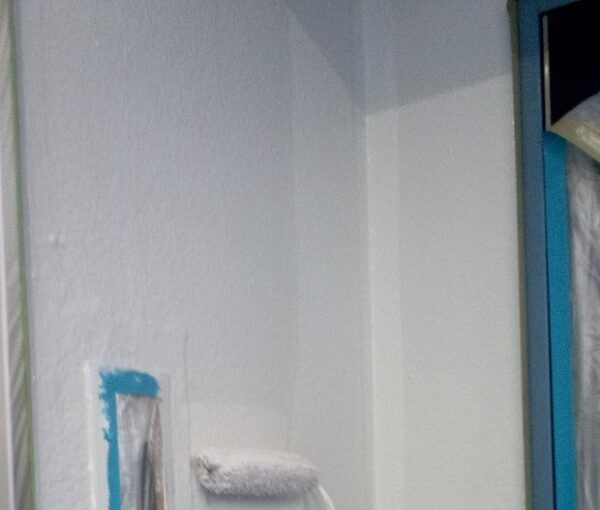 東京都台東区 ブロッケンビル改修工事 上塗り 塗装工事の工程 (8)