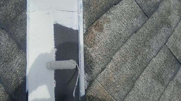 埼玉県八潮市 A様邸 屋根塗装・外壁塗装 メンテナンス時期の目安 屋根塗装の工程 (13)