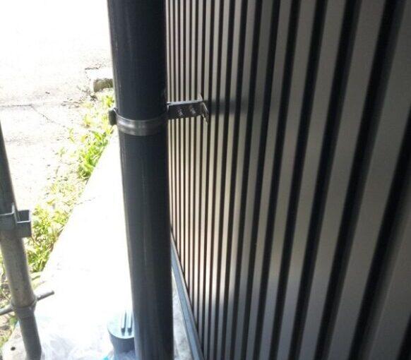 東京都葛飾区 I様邸 雨樋塗装 庇塗装 雨樋のメンテナンス方法 塗装の工程 (3)