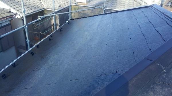 埼玉県八潮市 A様邸 屋根塗装・外壁塗装 メンテナンス時期の目安 屋根塗装の工程 (4)