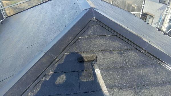 埼玉県八潮市 A様邸 屋根塗装・外壁塗装 メンテナンス時期の目安 屋根塗装の工程 (3)