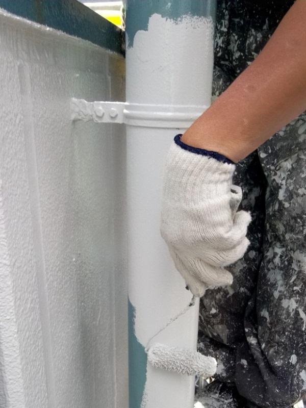 東京都台東区 ブロッケンビル改修工事 付帯部塗装 塗料を選ぶ際の注意点 (5)