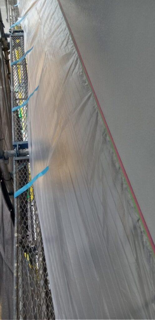 東京都台東区 ブロッケンビル改修工事 壁パネル塗装 (3)