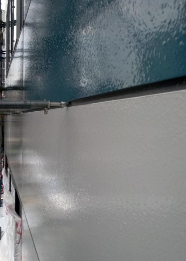 東京都台東区 ブロッケンビル改修工事 壁パネル塗装 (18)
