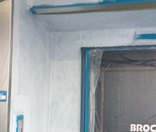東京都台東区 ブロッケンビル改修工事 下塗り 関西ペイント RSフィラー (3) - コピー