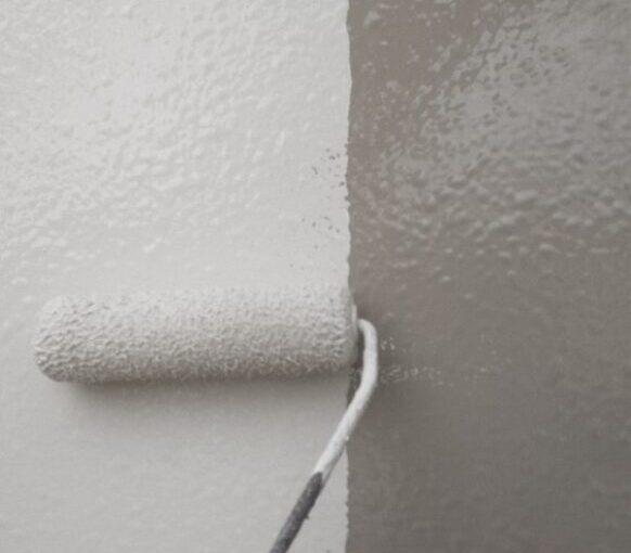 東京都台東区 ブロッケンビル改修工事 壁パネル塗装 (11)