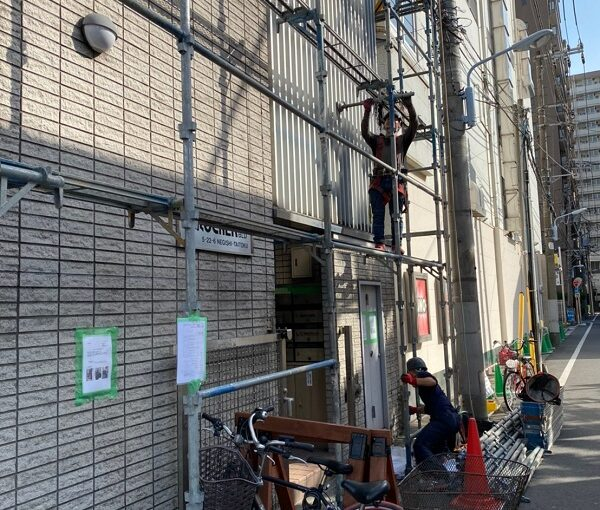 東京都台東区 ブロッケンビル改修工事 (5)