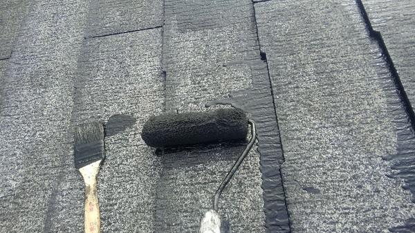 埼玉県八潮市 A様邸 屋根塗装・外壁塗装 メンテナンス時期の目安 屋根塗装の工程 (20)
