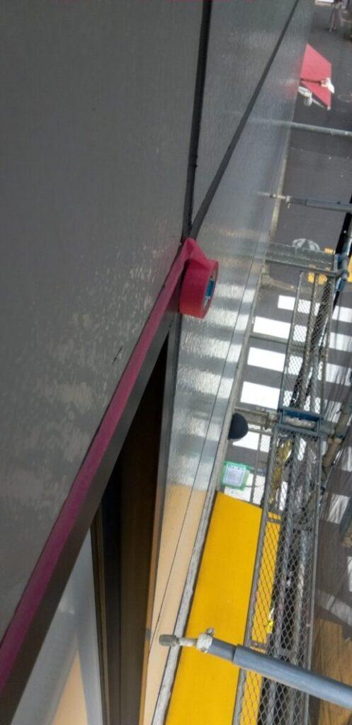 東京都台東区 ブロッケンビル改修工事 壁パネル塗装 (5)
