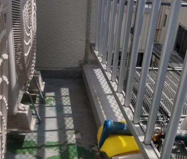 埼玉県さいたま市岩槻区 アパート 防水工事 ウレタン防水密着工法 サラセーヌ (3)