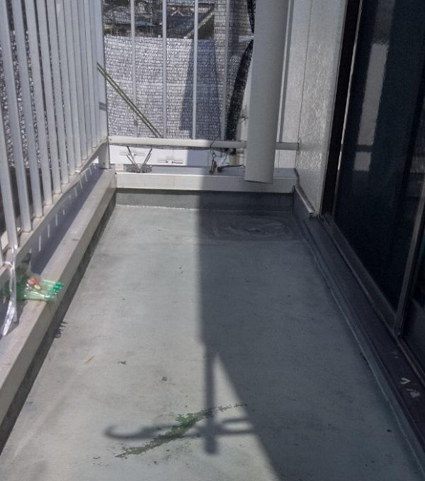 埼玉県さいたま市岩槻区 アパート 防水工事 ウレタン防水密着工法 サラセーヌ (2)