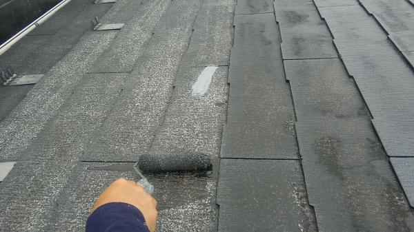 埼玉県八潮市 A様邸 屋根塗装・外壁塗装 メンテナンス時期の目安 屋根塗装の工程 (10)