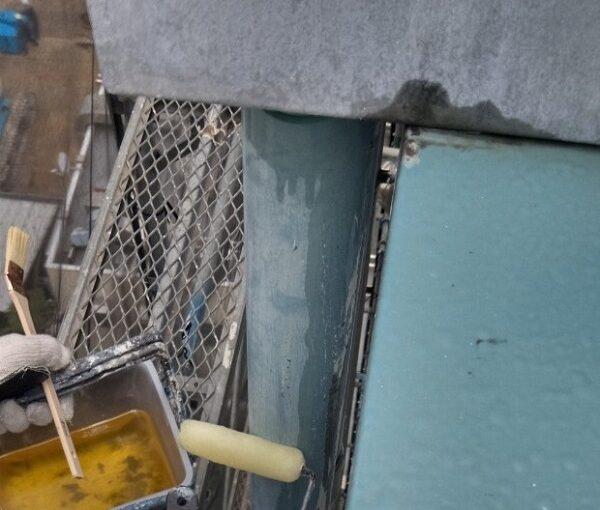 東京都台東区 ブロッケンビル改修工事 付帯部塗装 塗料を選ぶ際の注意点 (4)