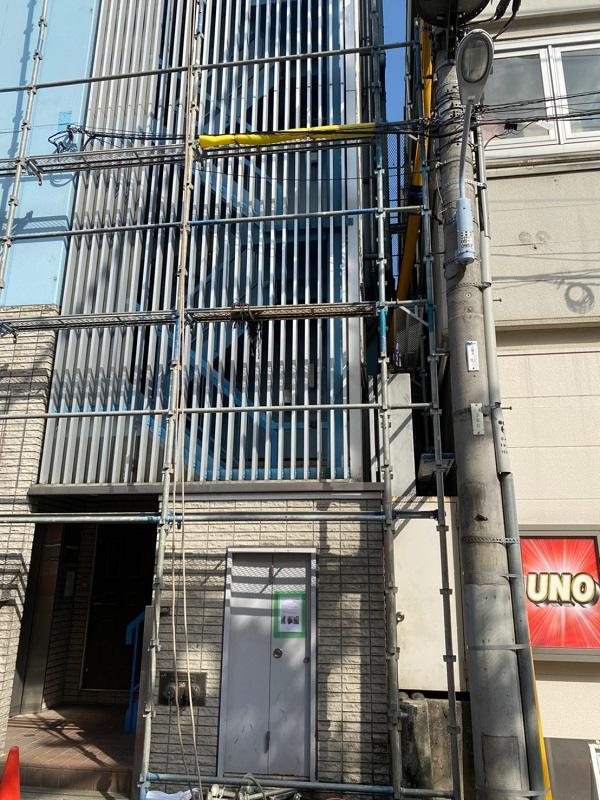 東京都台東区 ブロッケンビル改修工事 (2)