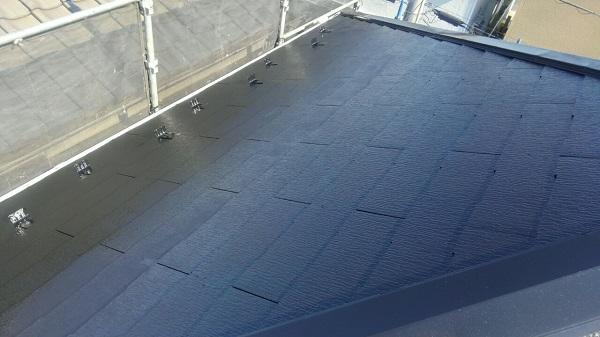 埼玉県八潮市 A様邸 屋根塗装・外壁塗装 メンテナンス時期の目安 屋根塗装の工程 (6)